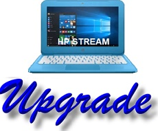 Upgrade HP Stream Laptop Storage Repair