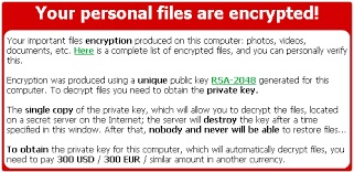 About Cryptolocker ransomware and ransomware removal
