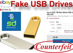 Recover Data from Fake USB Flash Drives Same Day