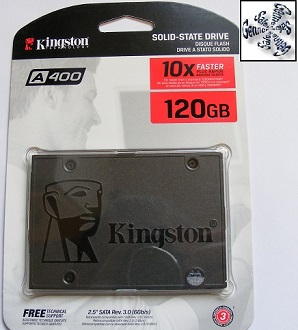 Shropshire Laptop Kingston Solid State Drive Installation