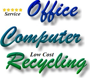Business computer recycling, personal laptop recycling