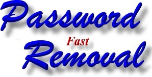 Secure Laptop Password Removal, PC Password Removal