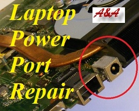 Shropshire Laptop Power Power Socket Qualified Repair