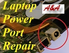 UK Laptop Power Socket Repair