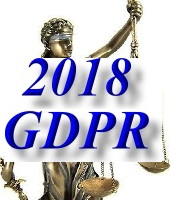 GDPR - General Data Protection Regulation Law 2018