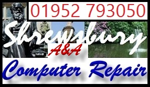 Shrewsbury laptop repair and Shrewsbury PC repair