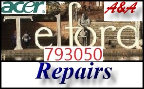 Acer Telford UK Laptop Repair - Acer Shropshire PC Repair