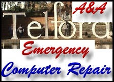 Telford Shropshire same day emergency A&A computer repair