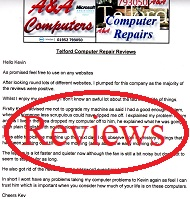 A&A Telford Computer Repairs Reviews