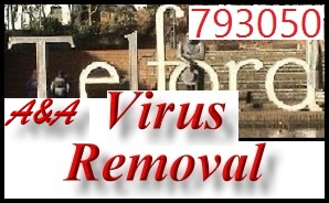 Telford Laptop Virus Removal and Telford PC Virus Removal