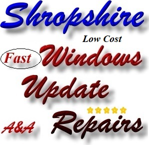 Shropshire Computer Update Fix - Windows Update Repair